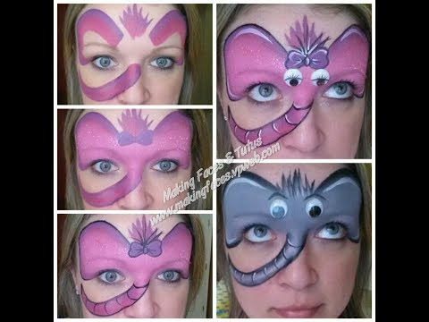 Silly Elephant Face Painting Tutorial