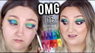 OMG!   MAKEUP GEEK POWER PIGMENTS   HIT OR SH*T!?   FIRST IMPRESSIONS, TUTORIAL + REVIEW