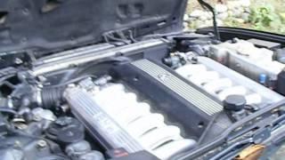 BMW 750iL V12 E32 moteur M70