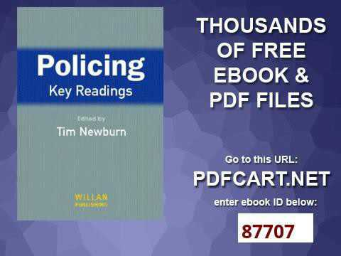 Policing key readings youtube policing key readings fandeluxe Gallery