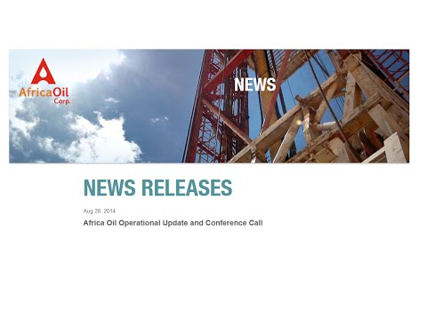 2014 08 28 AFRICA OIL OPERATIONAL UPDATE