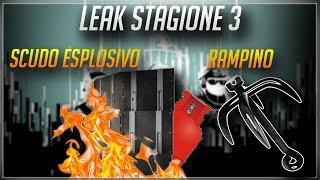SCUDO ESPLOSIVO NELLA STAGIONE 3? LEAKS - RAINBOW SIX SIEGE