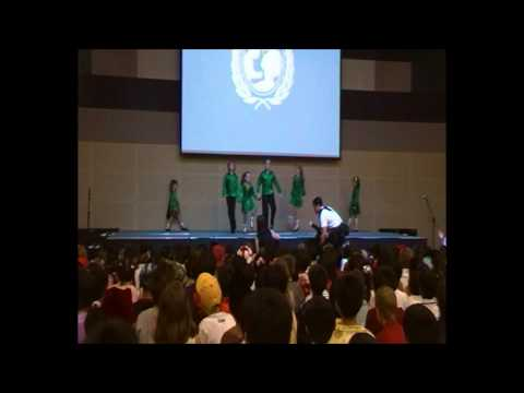 Irish Dancing at British International School Kuala Lumpur October 2011