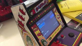 My Arcade DataEast  Classics 34 in 1, Dig and Dug, Galaga mini arcade review.
