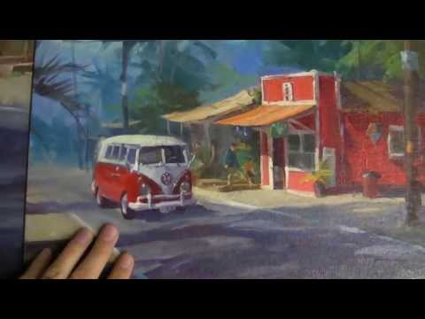 Painting Tip - Telling a Story