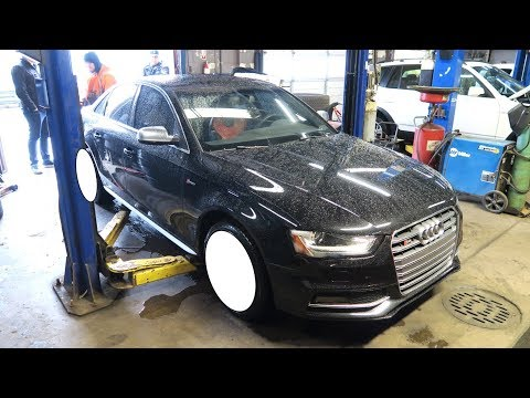 NEW WHEELS FOR MY AUDI S4!!!