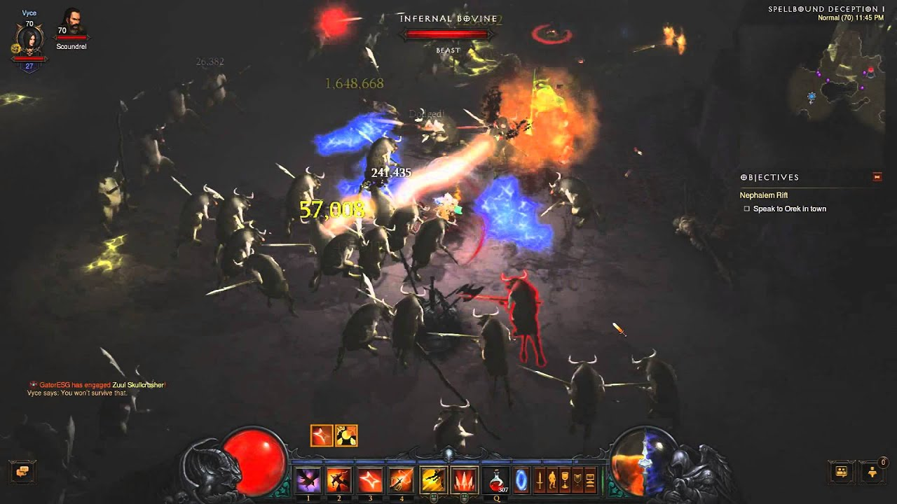 Diablo 3 Reaper of Souls Cow Level - YouTube