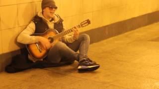 Луч солнца золотого под гитару кавер, ковер, cover  на позитиве жгет