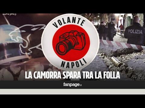 Ecco cosa accade durante un agguato di camorra a Napoli
