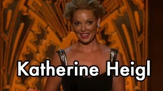 Katherine Heigl Faces Her Fear of Public Speaking to Honor Shirley MacLaine