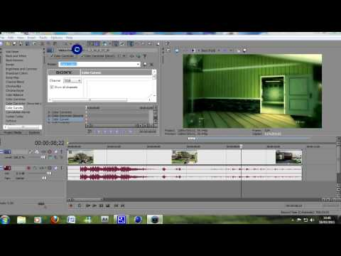 Sony Vegas Tutorial : My Best Colour Correction for Black Ops & MW2 - Rocket Ross