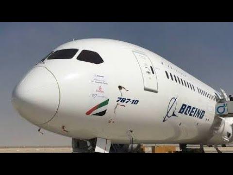 Boeing 787-10 at Dubai Airshow 2017 First Public appearance.