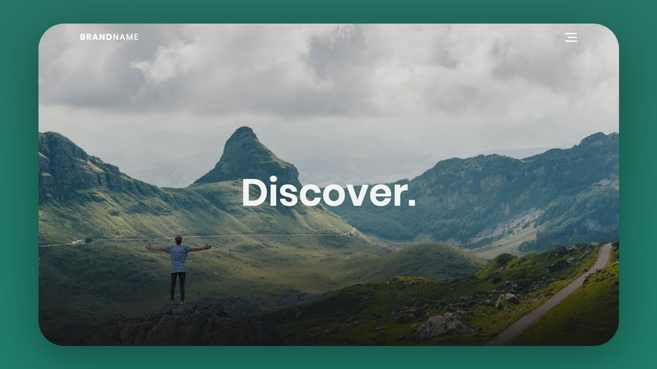 Awesome Parallax Scrolling Effect Using HTML & CSS & Vanilla JavaScript (2020)
