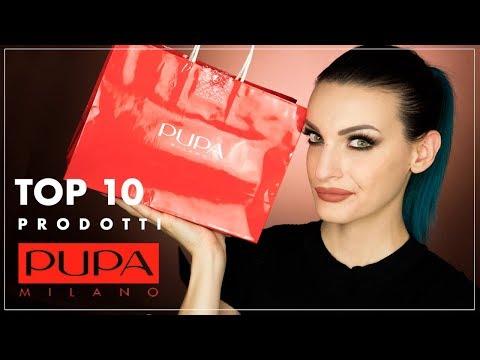 TOP 10 PUPA MILANO + IDEA GIVEAWAY - #Top10brand