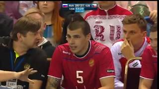 Гандбол Россия-Чехия 29-21 12.06.2018 концовка