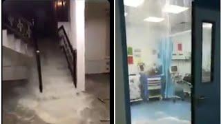 سيول الكويت تدمر المستشفيات والمنازل...لطفك يارب