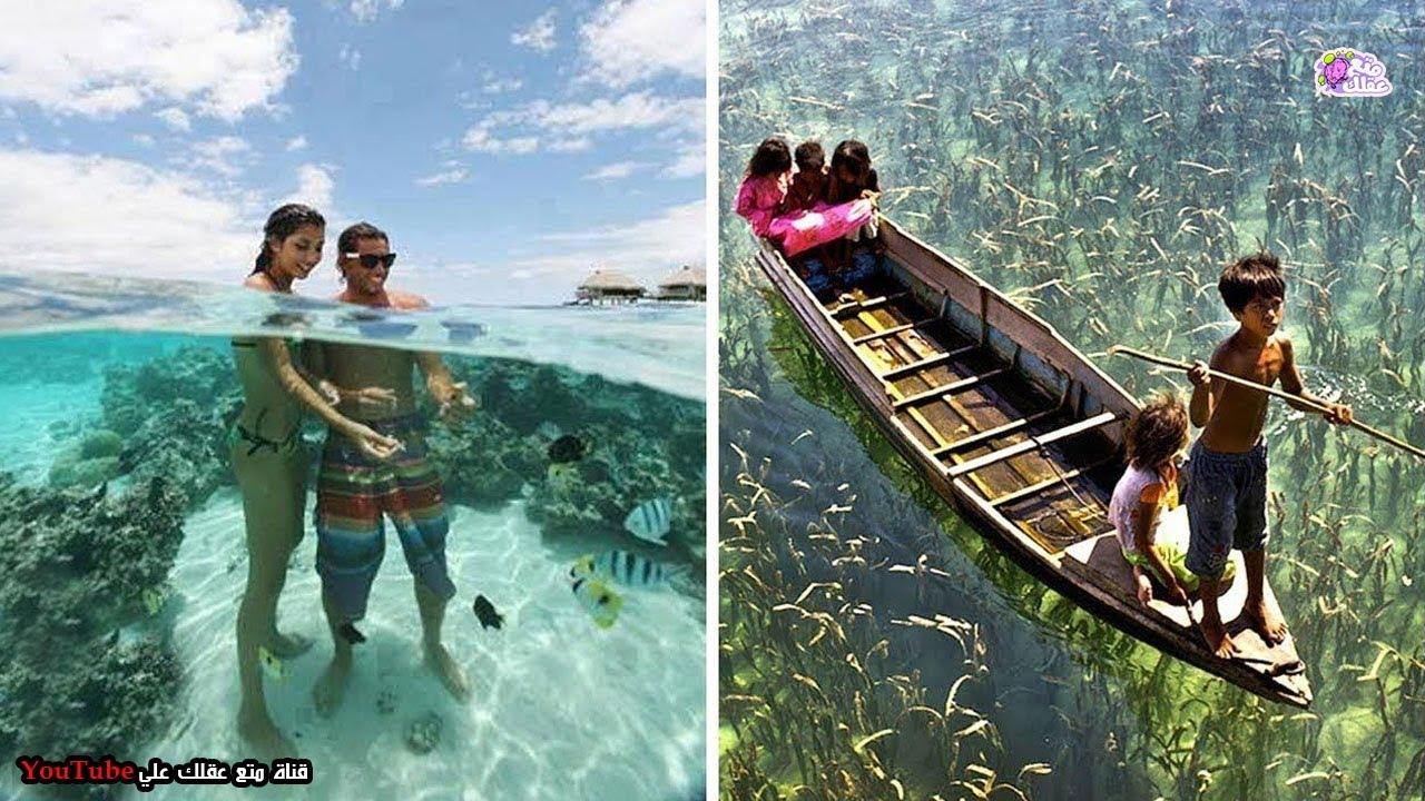 اجمل وانقي 10 بحيرات فى العالم - مياة على درجة مذهلة من النقاء !