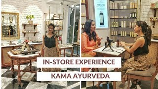 VLOG: Pre-Bridal Beauty Regime With Kama Ayurveda: Store Experience