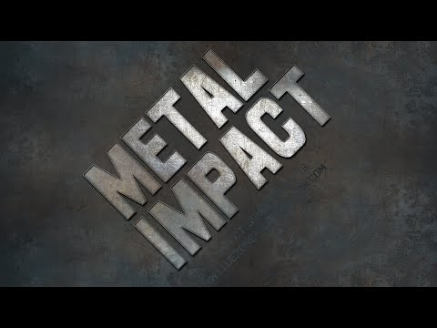 Metal Impact Sound Effects - Sample Library - YouTube