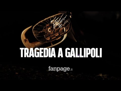 Tragedia a Gallipoli, 21enne travolto e ucciso in bici da un guidatore ubriaco: ferito l'amico