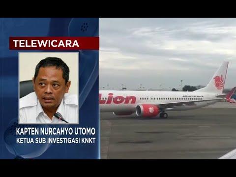 KNKT: Lion Air PK-LQP Sudah Bermasalah Sebelum Jatuh