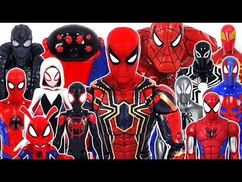 Marvel Spider-Man Into The Spider-Verse VS Ultimate Spider Hulk Team Battle! | DuDuPopTOY