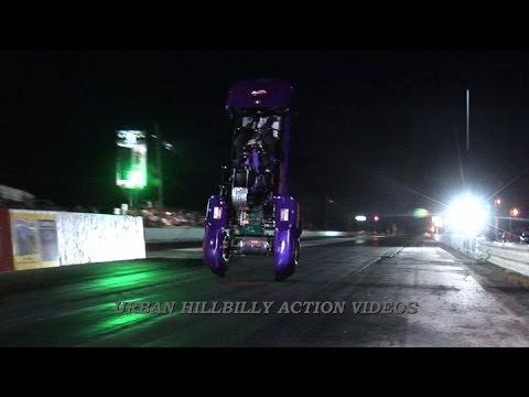 !!!OMG!!! Electric Drag Cart FLIPS OVER BACKWARDS