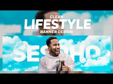PS Tutorial: Clean Lifestyle/Sky Banner design