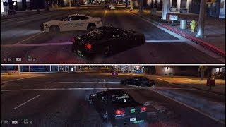 GTA 5 FiveM SARP | Crazy Illegal Street Drifting Pt 1 - Cops Called Out All The Units!