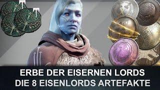 Destiny : Erbe der Eisernen Lords & Artefakt der Eisernen Lords (Deutsch/German)