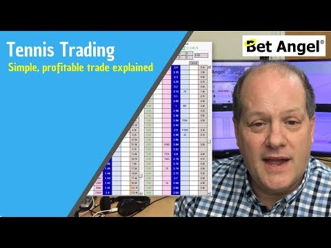 Peter Webb, Bet Angel - Simple, profitable Tennis trade explained