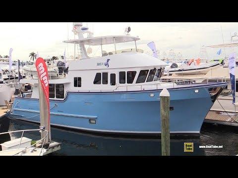 2018 Northern Marine 57 Expedition Yacht - Deck Interior Walkaround - 2018 Fort Lauderdale Boat Show