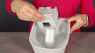 How to assemble the Premier Pet 50 oz Fountain