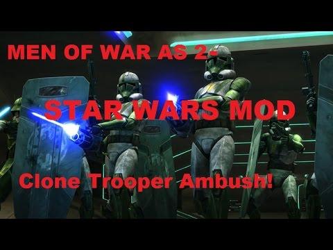 Men Of War Assault Squad 2 - Star Wars Mod ~ Clone Trooper ...