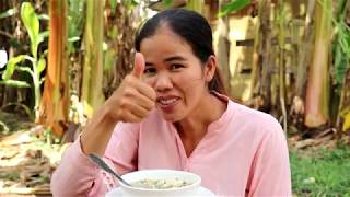Awesome Cooking Fish  With Young Jackfruit Recipe  -   Eating Soup Delicious -  Primitive Technology