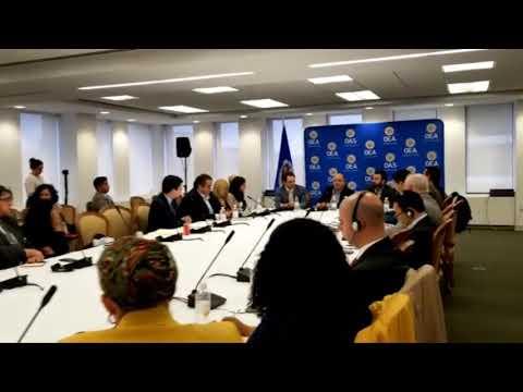 Estados Unidos propondrá tema de crisis de Nicaragua en la asamblea general de la OEA