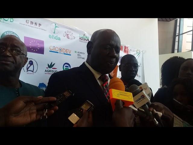 M Oumar Ba membres de la DYTAES