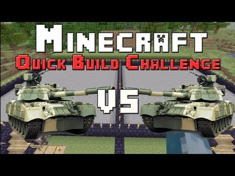 Minecraft Xbox - Quick Build Challenge - Military