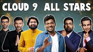 Cloud 9 All Stars Ft. @Zakir Khan @Sachin Jigar & Malhar Thakar | The Comedy Factory