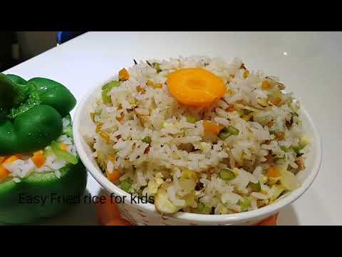 Easy Fried Rice For Kids||Easy Lunch Box Recipe