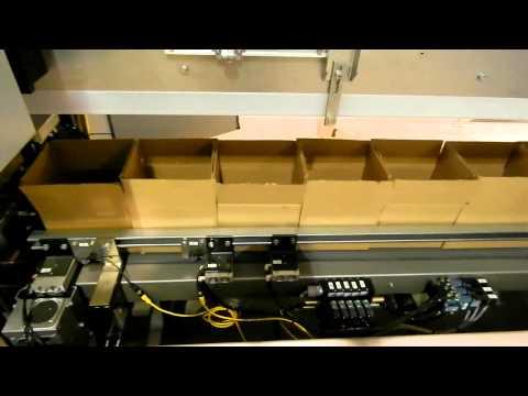 DPI Pharma Bottles and Conveyor
