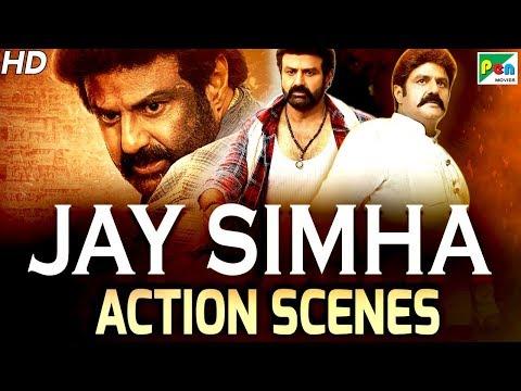 Jay Simha - Best Action Scenes | New Action Hindi Dubbed Movie | Nandamuri Balakrishna, Nayanthara