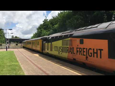 Colas Rail 37175-37254 - 1Z81 - Poulton-le-Fylde - 14th July 2016