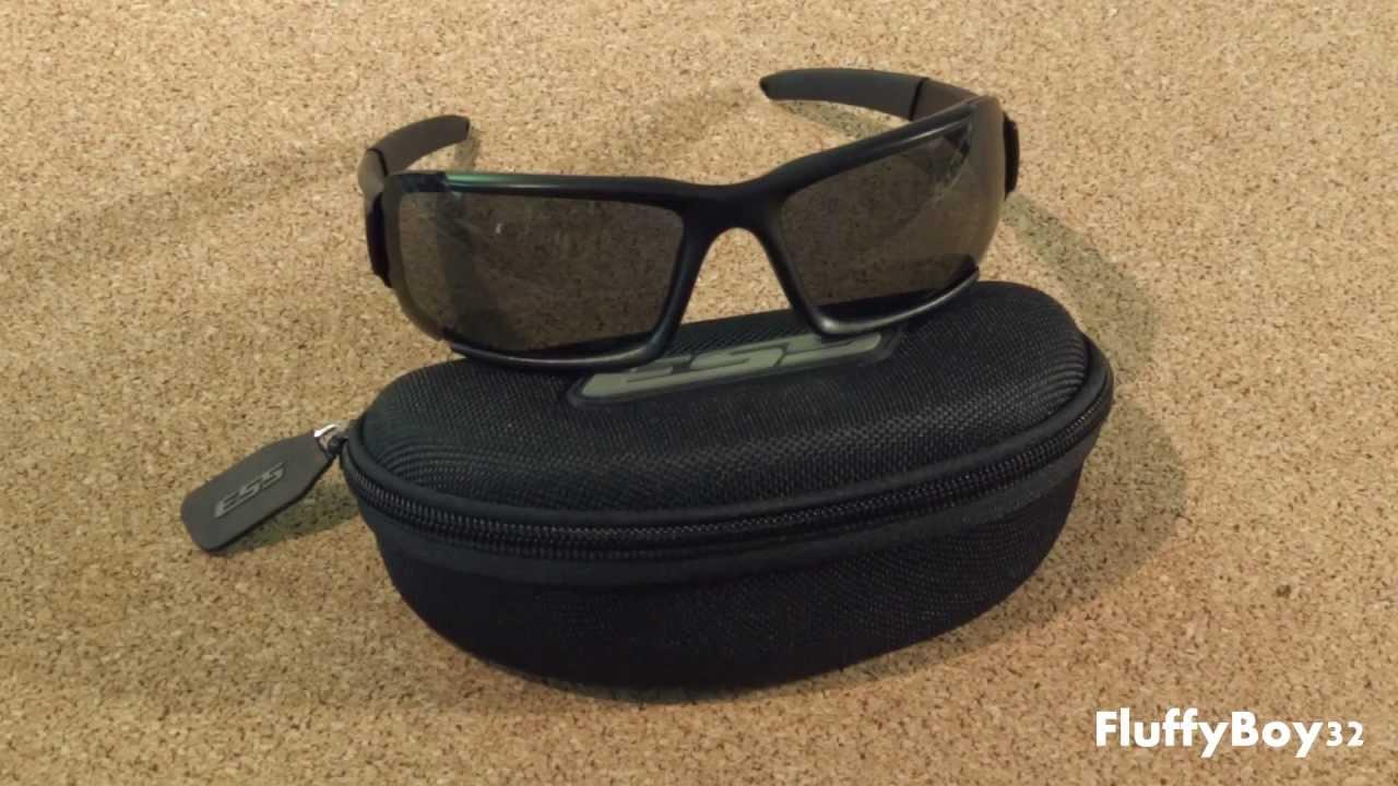 c3132daeec5 ESS CDI MAX Ballistic Sunglasses Review - YouTube