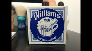 Lather Review featuing Williams Tallow Mug Soap!!!!!