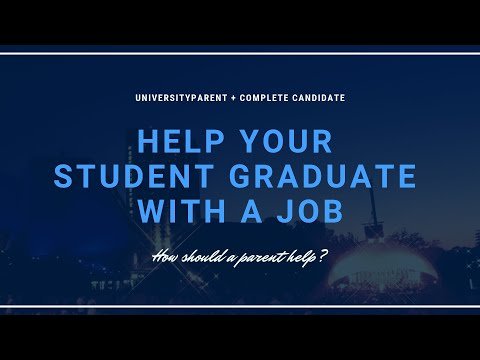 How to Help Your Student Graduate with a Job
