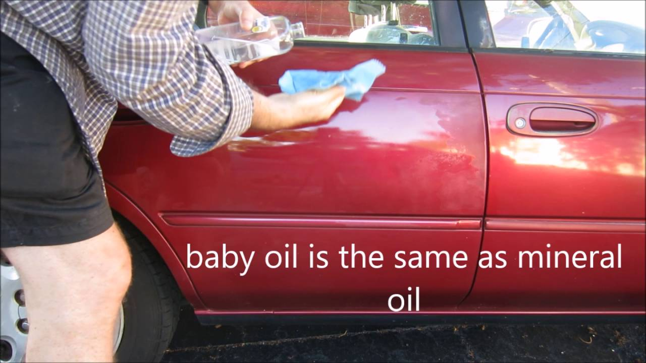 will baby oil make a car look new youtube. Black Bedroom Furniture Sets. Home Design Ideas