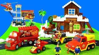 Feuerwehrmann Sam Feuerwehrautos & Mascha Und Der Bär, Paw Patrol, Lego Duplo Spielzeug Für Kinder