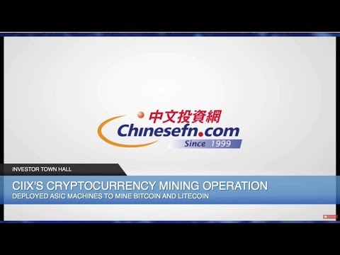 ChineseInvestors.com (CIIX) Expands Crypto Mining, Explores Bitcoin ATM Acquisitions