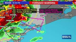 Watch Live Storms Starting To Pop Up Around Houston